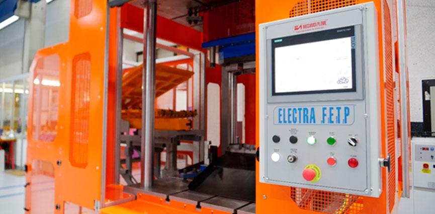 Prensa de corte ELECTRA FETP (Full Electric Trimming Press).