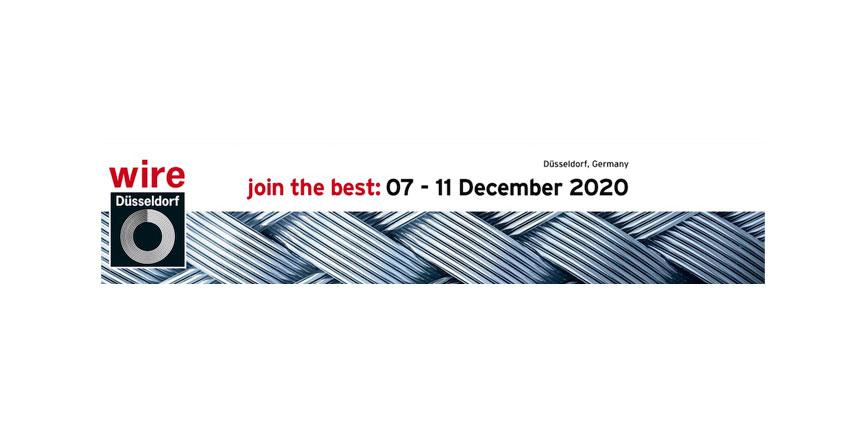 Wire and Tube se celebrará del 7 al 11 de diciembre de 2020