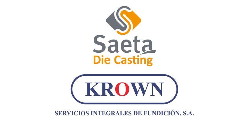 Saeta Die Casting (Valladolid) y KROWN (Madrid) unen recursos y esfuerzos