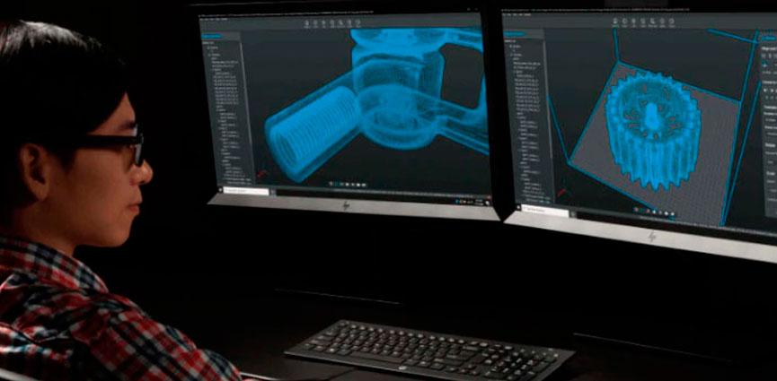 HP avanza en la automatización de la fabricación aditiva