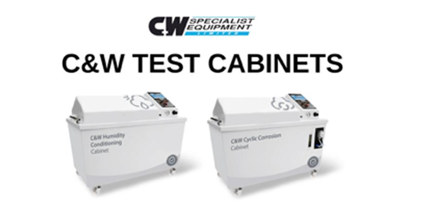 Cabinas C&W para pruebas ambientales