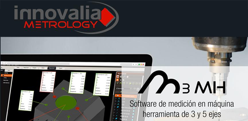 Innovalia Metrology. Software de medición en máquina herramienta de 3 y 5 ejes