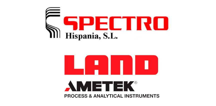 SPECTRO Hispania y LAND Instruments, empresas del grupo AMETEK, se unen para ofrecer un canal común