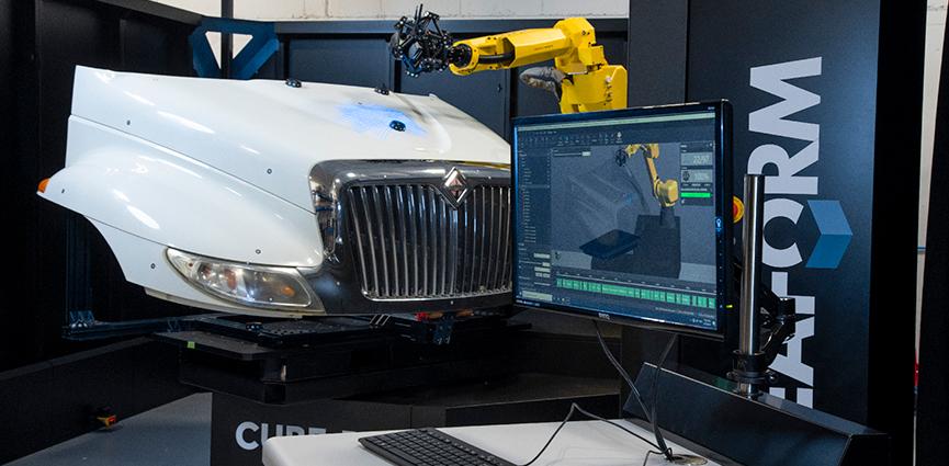 Creaform presenta webinar:  Control de calidad automatizado en el proceso productivo