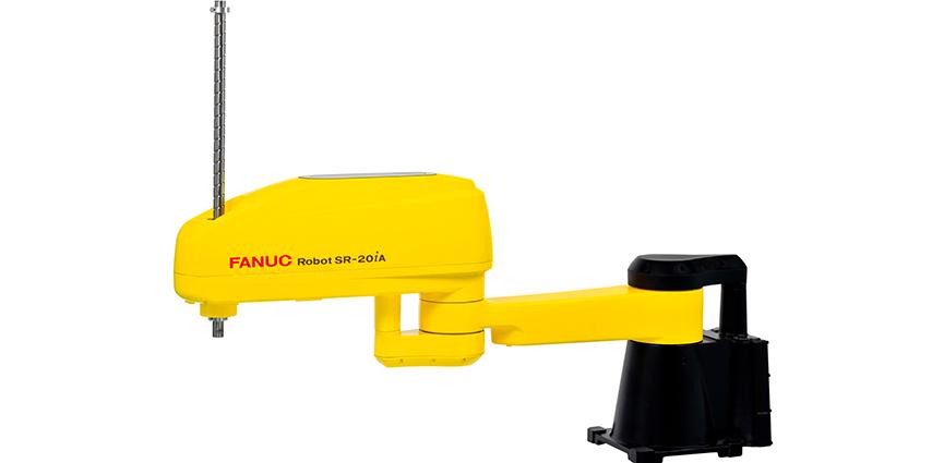 Nuevo Scara FANUC SR-20iA:  Diseño robusto y compacto con una gran capacidad de carga