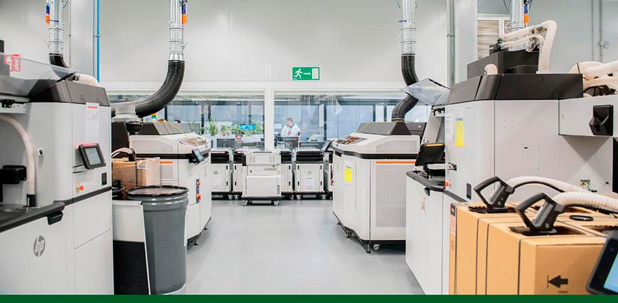 HP y Ford colaboran en la producción de piezas de automóvil en 3D, a partir del reciclado de material de fabricación