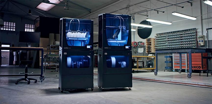 BCN3D lanza su Smart Cabinet, un nuevo dispositivo que almacena filamentos en condiciones perfectas de humedad y complementa sus impresoras 3D Epsilon