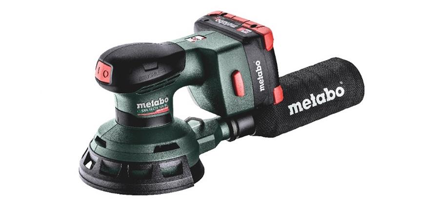 Metabo. Excelente lijadora excéntrica de batería de Metabo para la mejor calidad de superficies