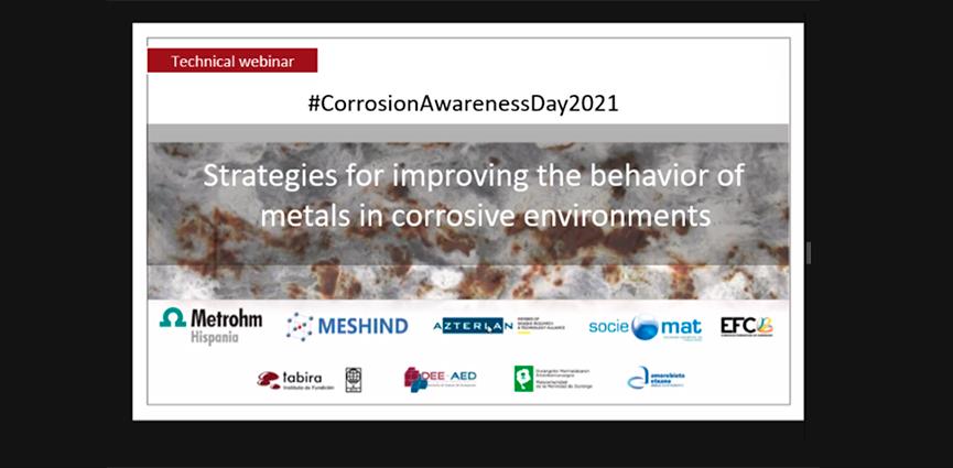 AZTERLAN. Nuevas estrategias para controlar los efectos de la corrosión sobre los materiales metálicos