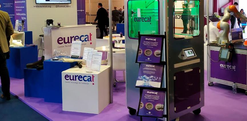 Eurecat muestra en Advanced Factories tecnologías disruptivas para incrementar la competitividad de la industria