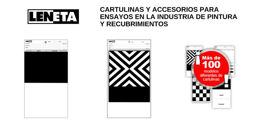 """Cartulinas Leneta, referente en las industrias de """"paint & coatings"""""""