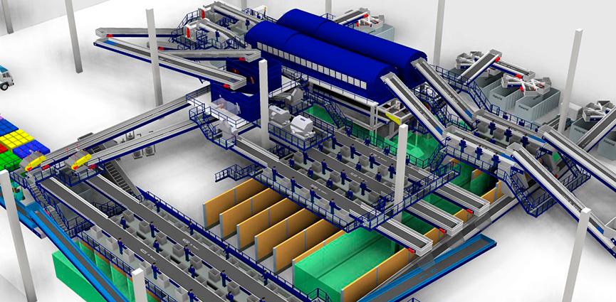 STADLER firma un acuerdo con Orizon Valorização de Resíduos para el proyecto de construcción de la mayor planta de selección mecánica de Brasil