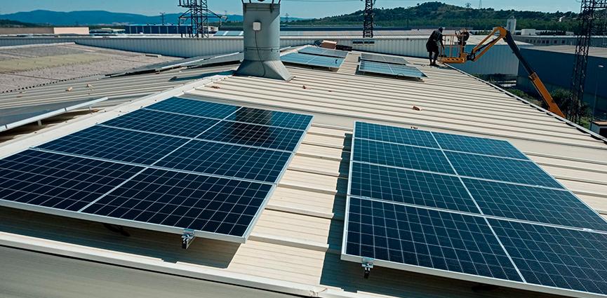 EUSKATFUND instala paneles fotovoltaicos