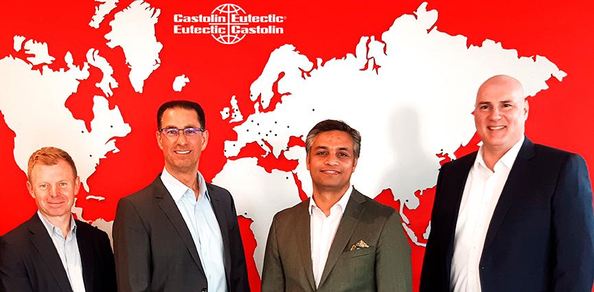 Pioneros en Sostenibilidad Industrial: Castolin Eutectic anuncia una nueva misión y estrategia junto con un nuevo equipo de dirección