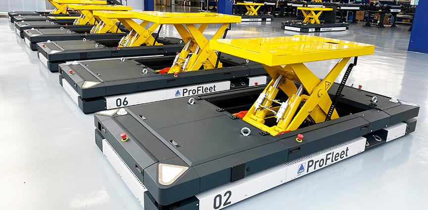 Concepto de montaje flexible para Lotus. La marca británica de automóviles deportivos elige la tecnología de Dürr para modernizar su línea de producción