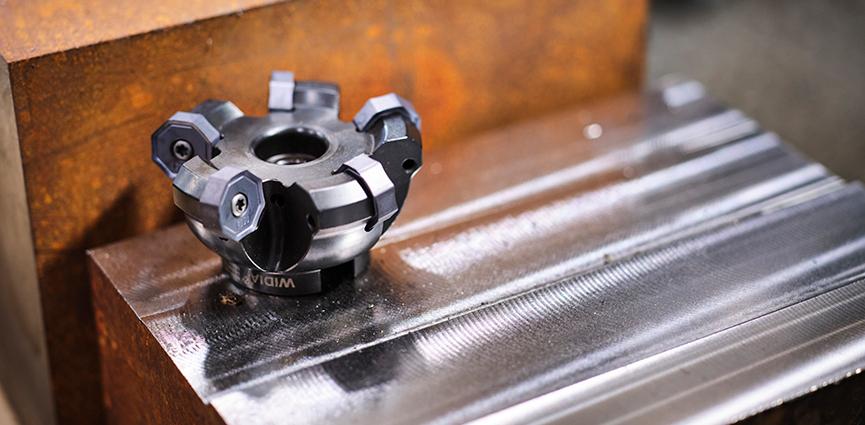 WIDIA. Nueva fresa de planeado para el mecanizado de desbaste y semiacabado de diferentes aceros, aceros inoxidables, fundición y hierros nodulares