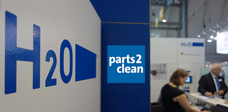 Nueva tecnología para la limpieza de piezas de alta calidad: H2O GmbH presenta