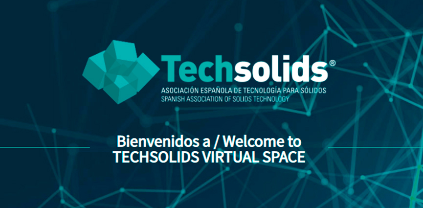 TECHSOLIDS abre una feria digital de permanente tecnología de sólidos: Techsolids Virtual Space (TVS)